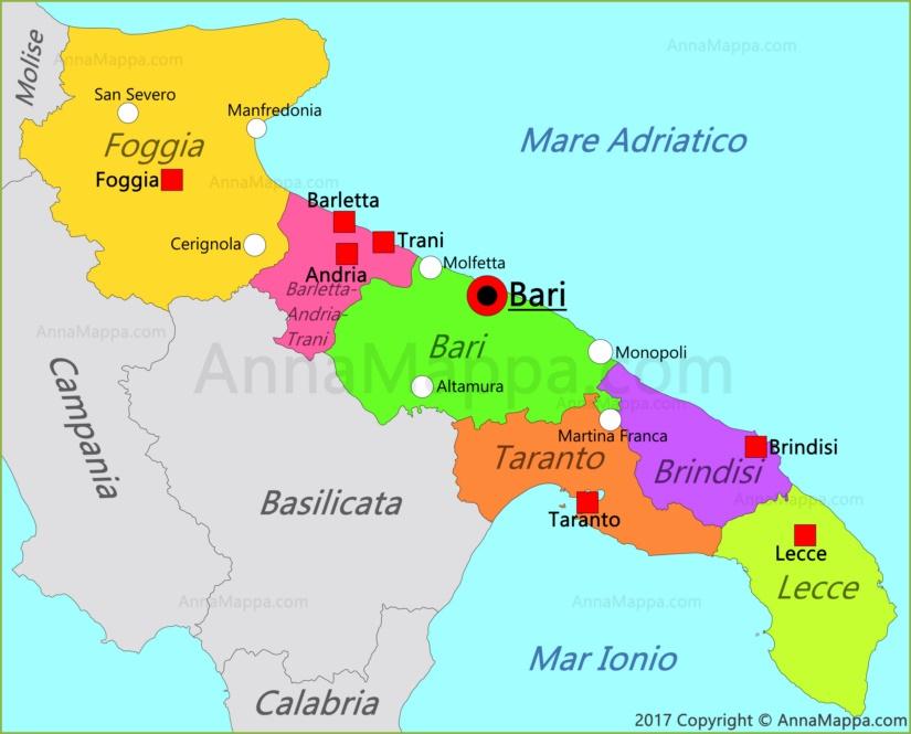 Cartina Puglia Immagini.La Puglia Lessons Blendspace